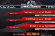ProjectKR vs IIRnGII 2주차 주간 챔피언전 3경기