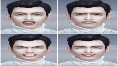 [벼루얼굴] 자연스러운 미소
