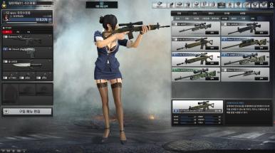 C급 저격총 2개를 조합했더니 B급 SG550 떴습니다..