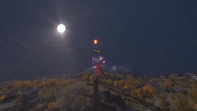 [추석] 보름달과 풍등과 나