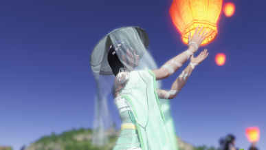 [풍등 축제 소원 이벤트] 2월 17일자 풍등날리기