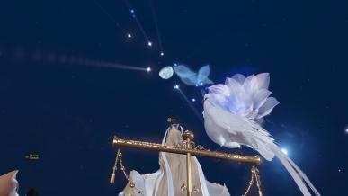 [추석] 침검지의 밤하늘...