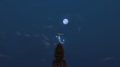 [정월대보름]보름달을보면서