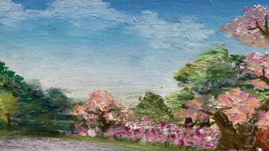 동월 행림/만접평 꽃밭을 그려봤어요  ᕕ( ᐛ )ᕗ