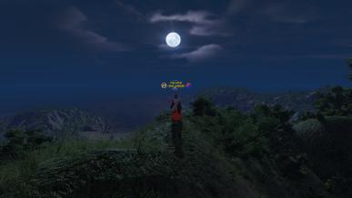 [정월대보름] 주둔지에 뜬 보름달