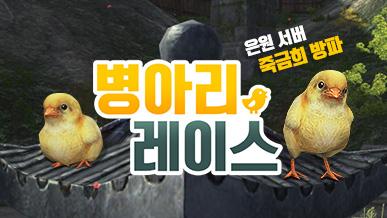 [은원] 죽금희 방파의 병아리 레이스!