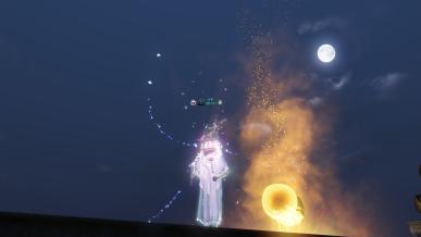 [대보름] 황성 지붕에서 땅콩과 함께 달을 보다