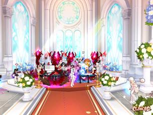 의도치 않은 레이드러들의 결혼식 무대의 링크