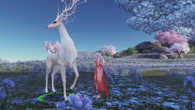 진짜 꽃사슴..