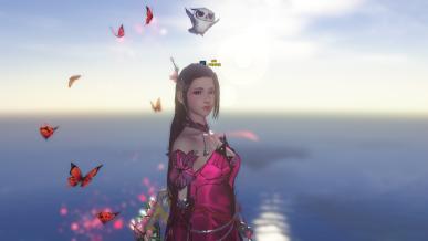 [염색] 분홍 나비 요정이 나타났어요!