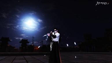 [정월대보름] moon and back