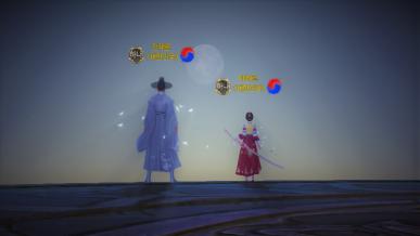 [광복절] 주둔지 달빛